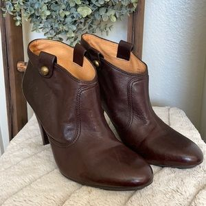 COACH Aliza Booties brown size 10